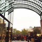恵比寿ガーデンプレイスのバカラシャンデリア点灯式