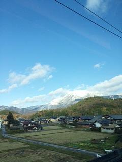 米原の冬山