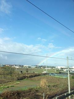 虹 新幹線より